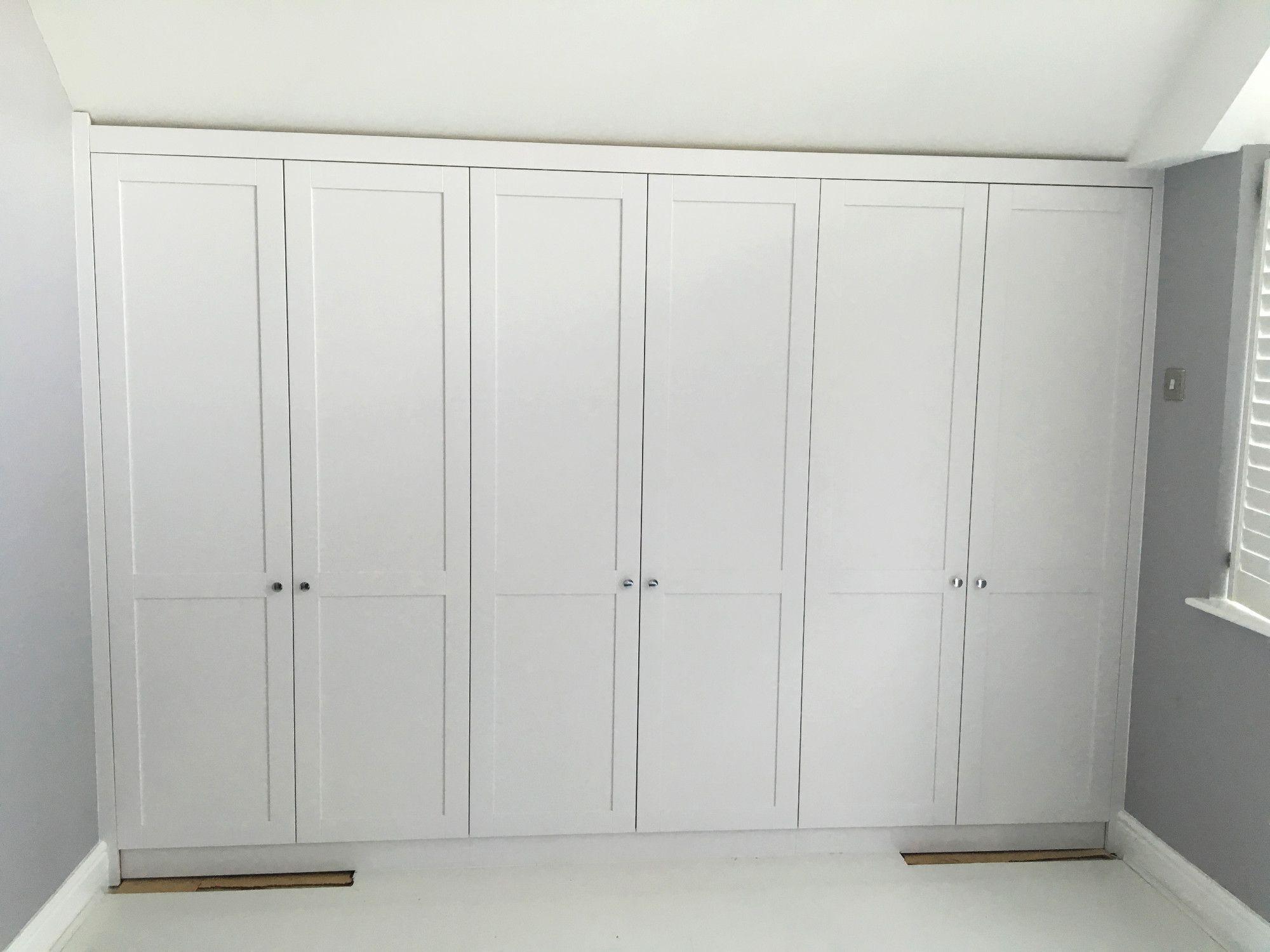 Shaker style wardrobe for the loft bedroom   Barn doors   Pinterest