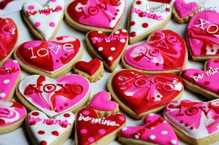 valentinecookiesdecorating hearts cookies valentines cookies decorating ideas
