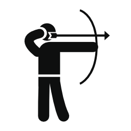 Archery Skill Free Vector Icons Designed By Freepik Archery Vector Icon Design Free Icons