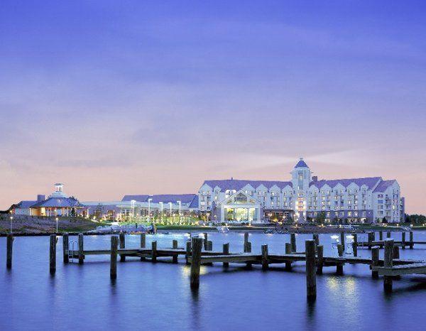 Hyatt Regency Chesapeake Bay Golf Resort Wedding Ceremony Reception Venue Maryland