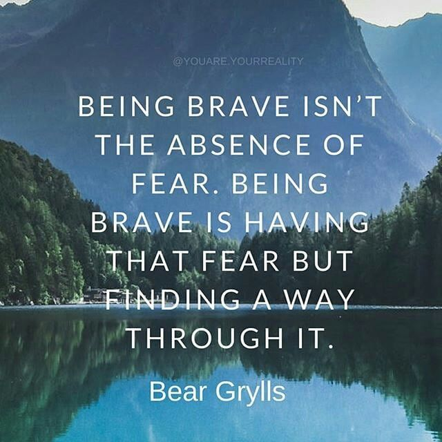 Inspirational Quotes On Pinterest: Reposting @viewsfromthelake: Be Brave In 2018! FOLLOW
