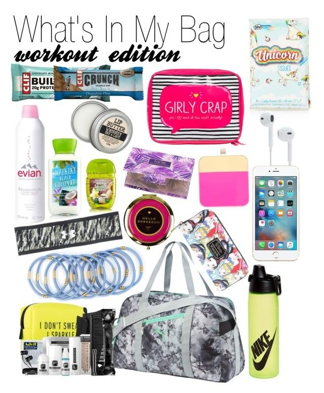 What S In My Bag Gym Workout Edition By Xsararenee On Polyvore
