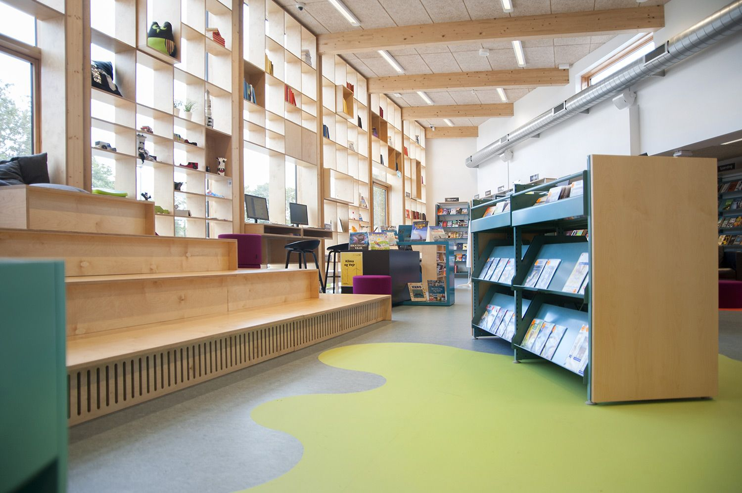 Libraries Modern Library Installation Projects Moderne