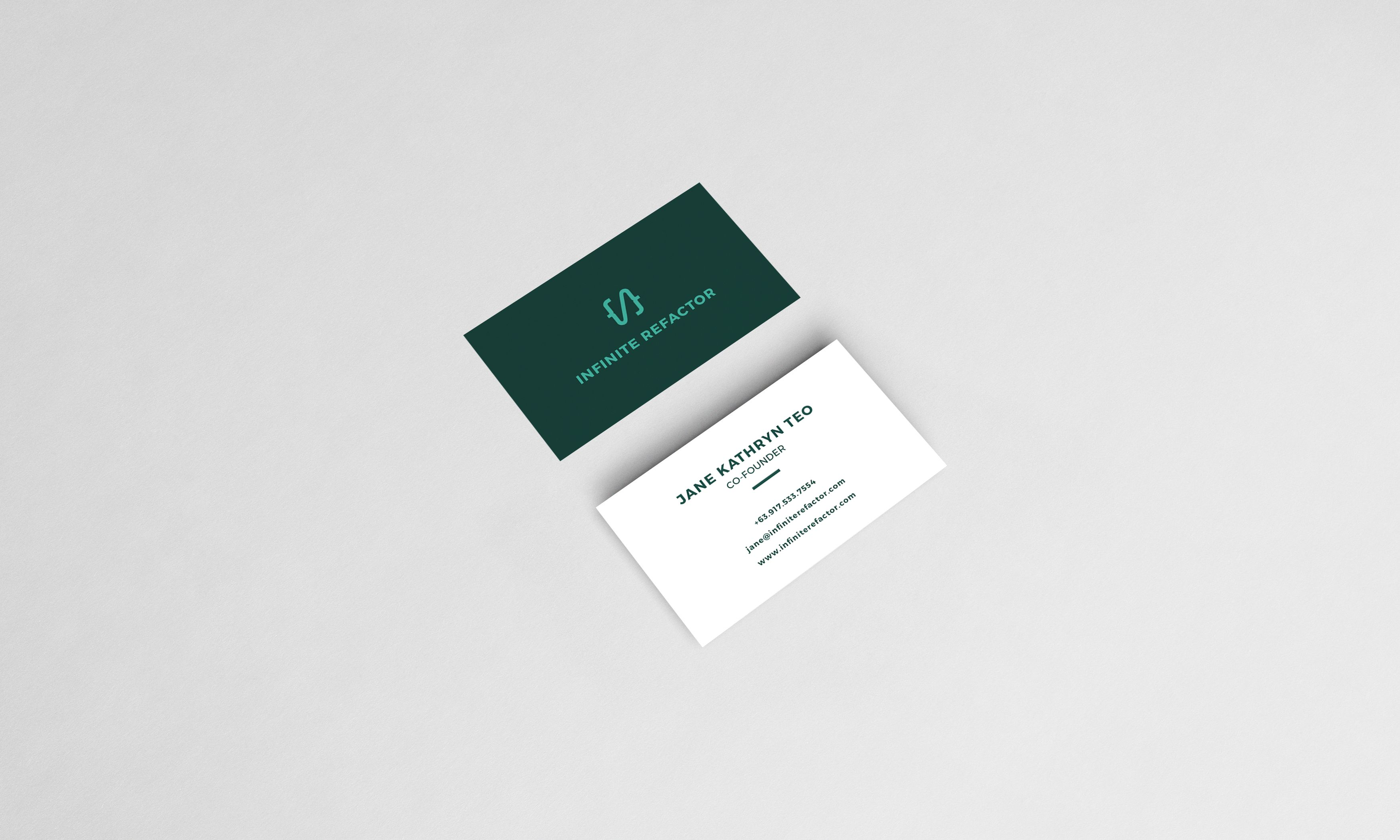 Infinite Retractor Business Card