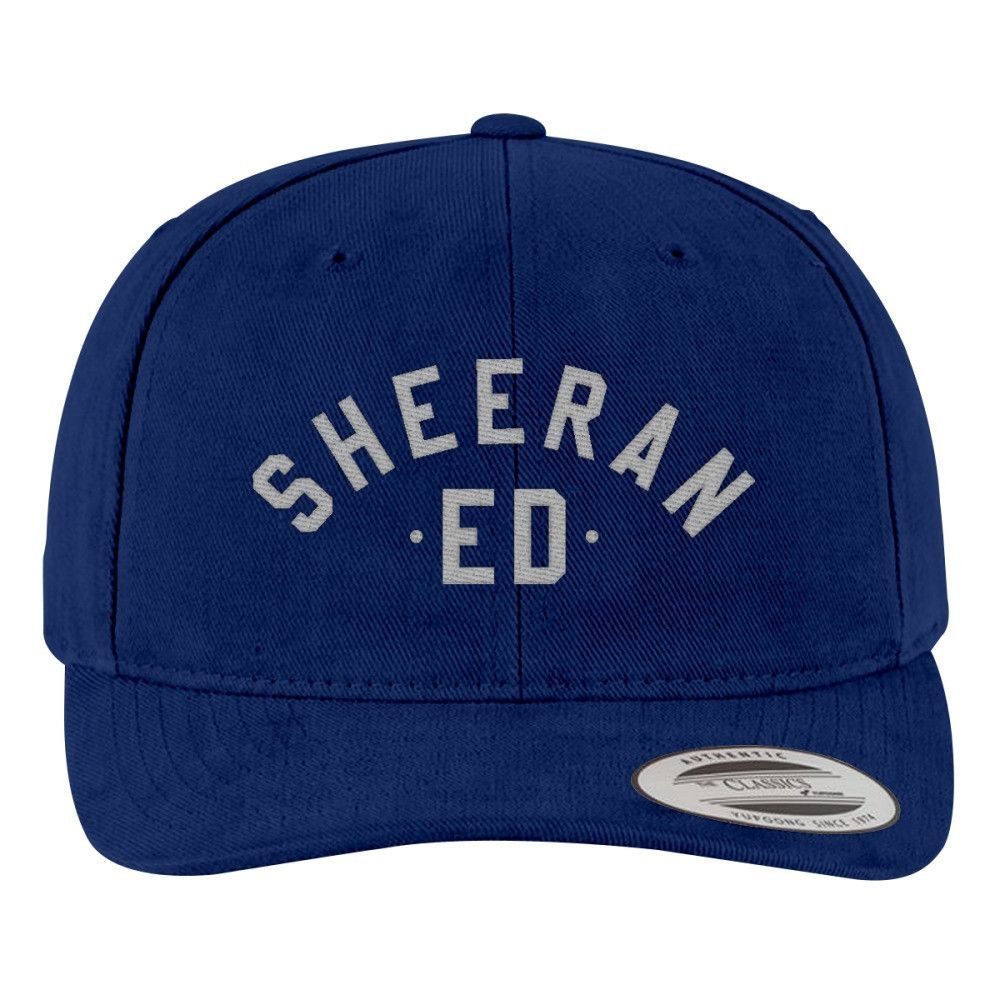 Ed Sheeran The A Team Brushed Embroidered Cotton Twill Hat