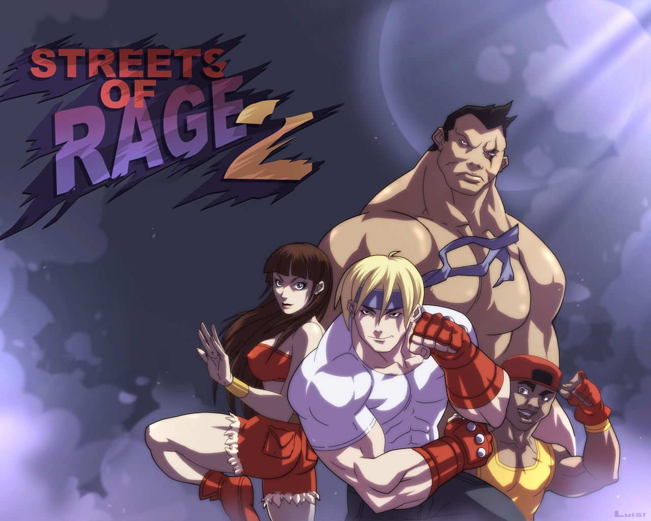 Streets Of Rage 2 Wallpaper Rage Street Anime