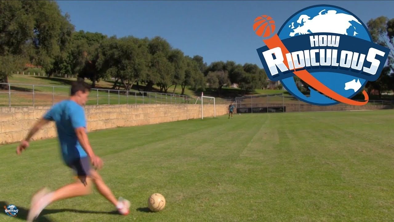 How Ridiculous Football (Soccer) Trick Shots How