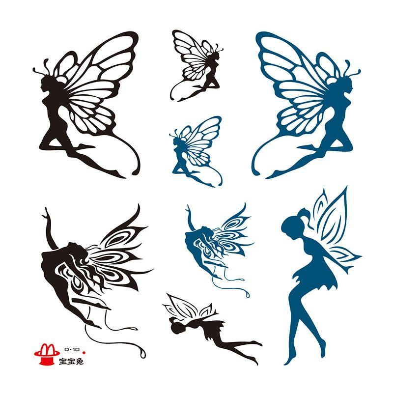 tribal fairy tattoo designs google search tatoo pinterest tatuajes tatuaje de hadas y alas. Black Bedroom Furniture Sets. Home Design Ideas