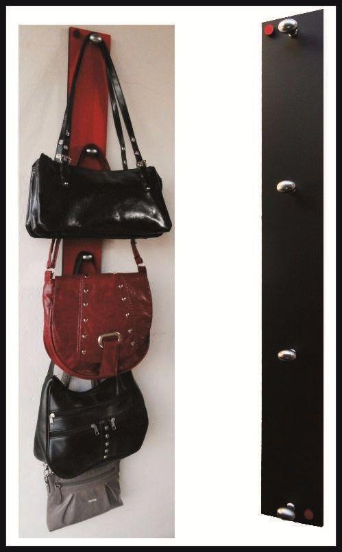 Organizador de carteras perchero de 4 ganchos nuevo - Percheros para bolsos ...