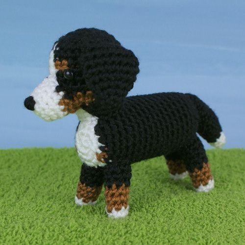 Amidogs Bernese Mountain Dog Crochet Pattern By Planetjune Soft