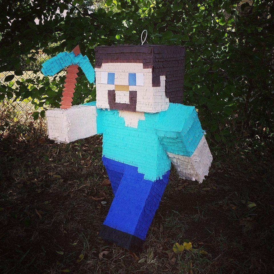 Minecraft Steve pinata! More b2231890a6d