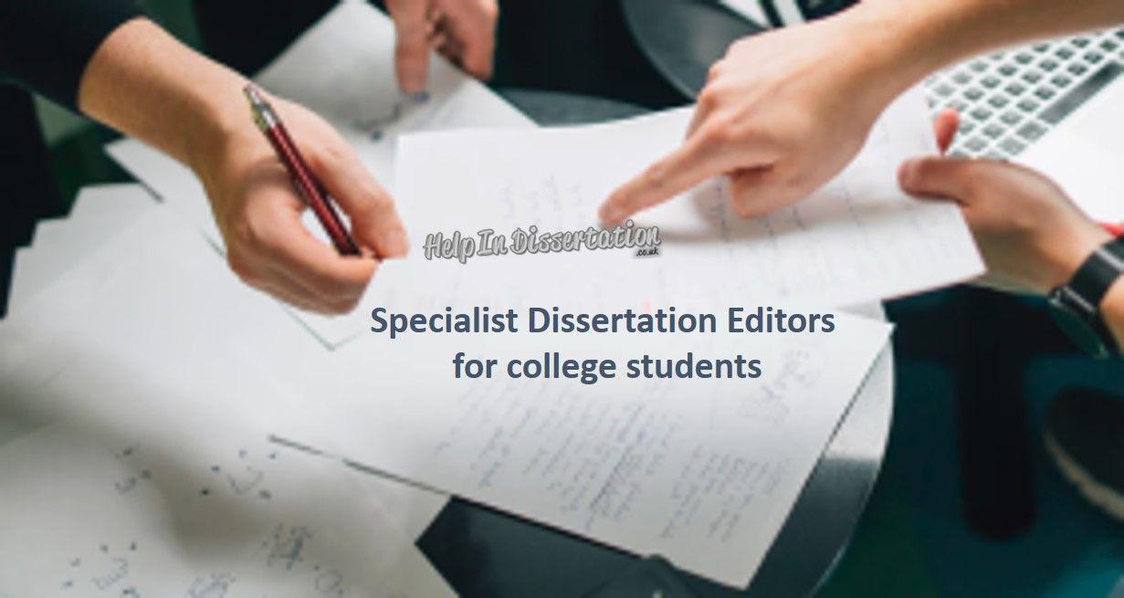 Cost dissertation consultant