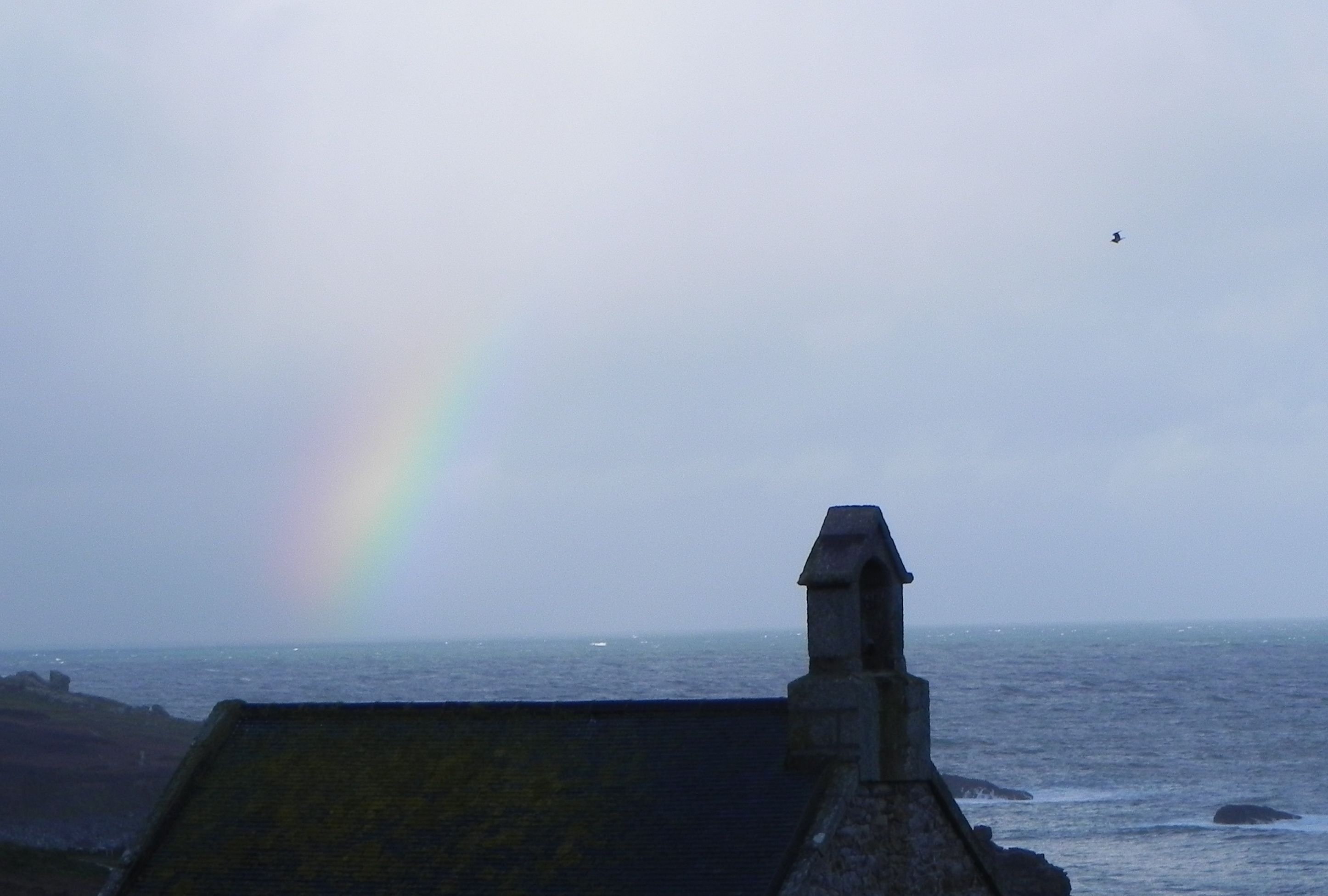 rainbow at St.Ives