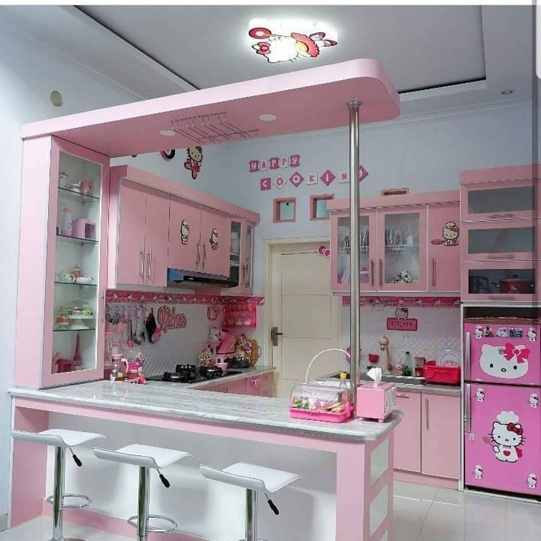Pin By Suzy Seibert On Luftskeppet Hello Kitty Kitchen Dream Home Design House Design