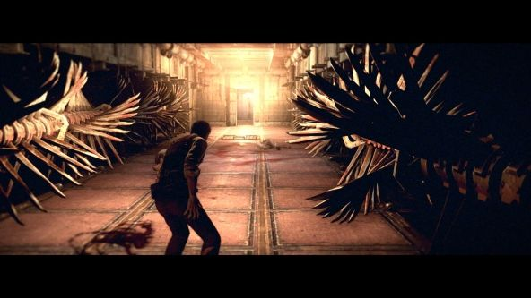 the evil within spinning blades - Google Search