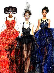 Spring Summer 2012 RTW Runway Illustrated(series) – Sunny Gu – || Fashion Art …||