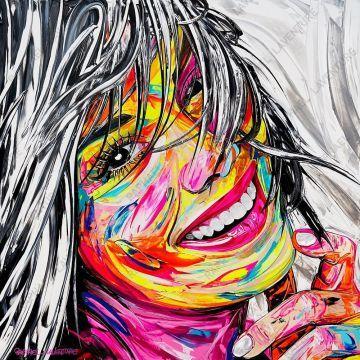 Raphaël Laventure | Peinture pop art, Portrait peinture, Art gallery
