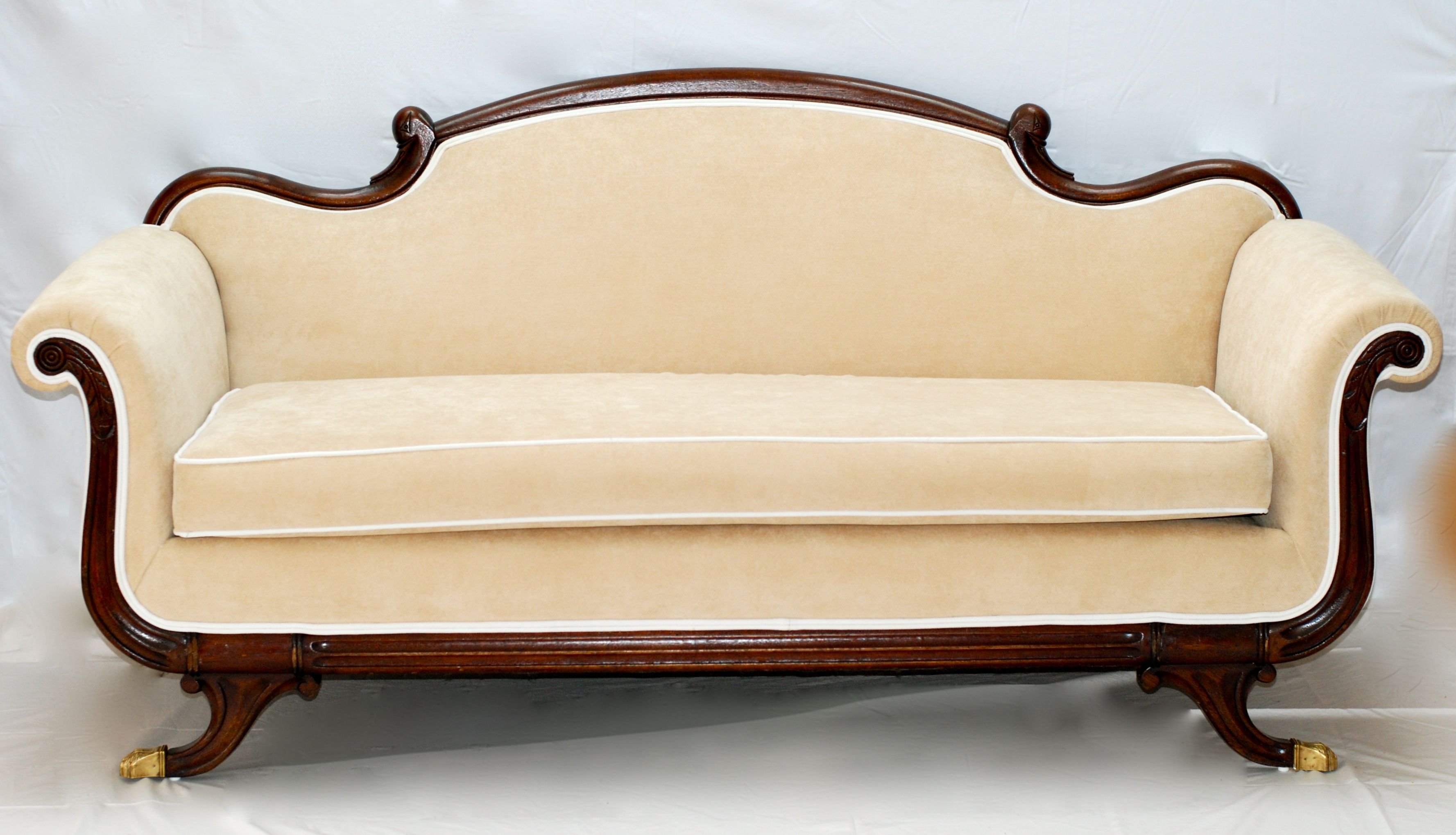 antique linen couch energywarden belgian after www couches re sofas net before and sofa upholstered in
