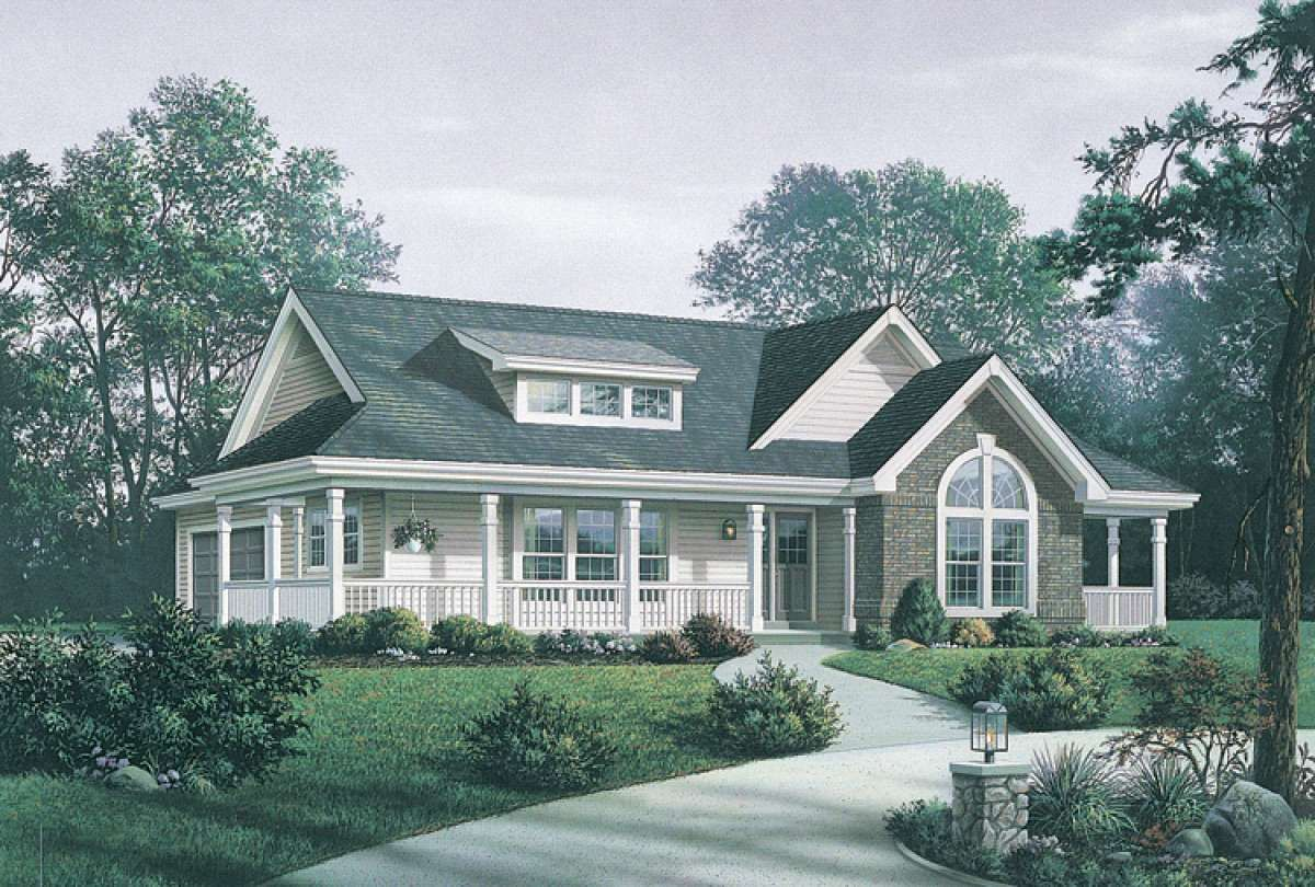 House Plan 5633 00150 Country Plan 1 591 Square Feet 3 Bedrooms 2 Bathrooms In 2021 Craftsman Style House Plans Farmhouse Style House Plans Ranch House Plans
