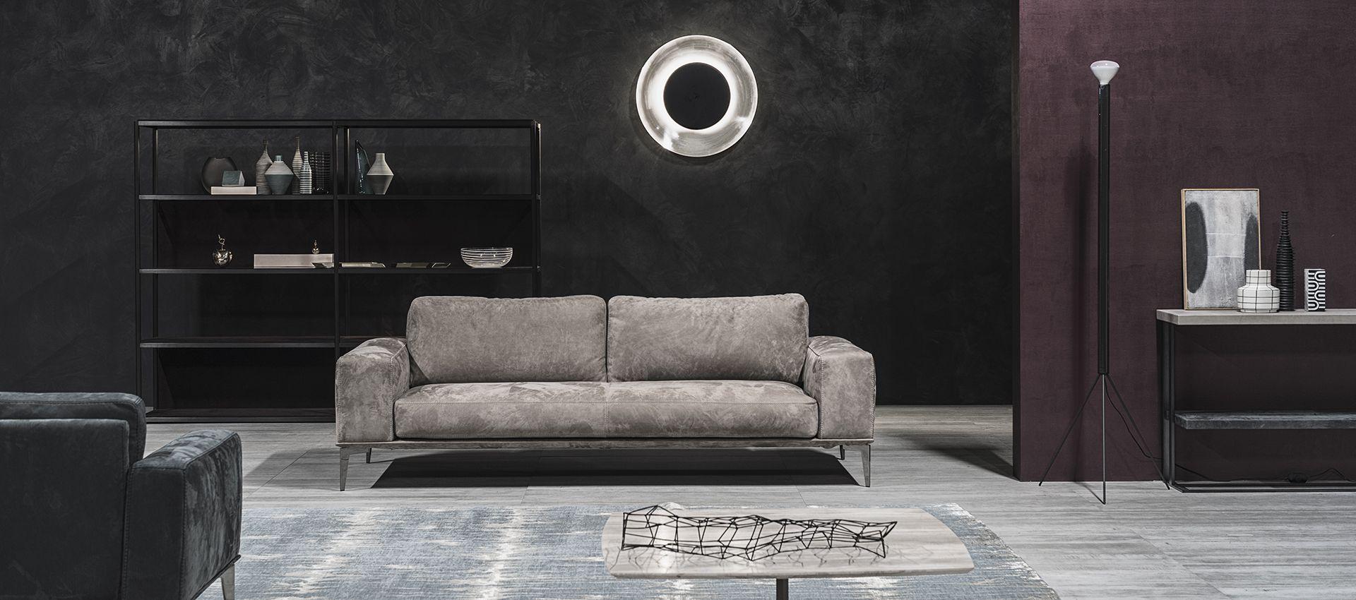 Strak Design Bank.Bank Leder Design Lommers Strak Modern Interieur Minotti Jori B B