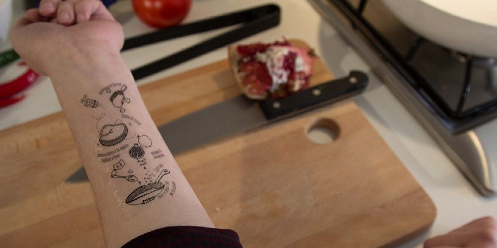 Tradizionali Takes Culinary Tattoos To A Whole New Extreme   Food ...
