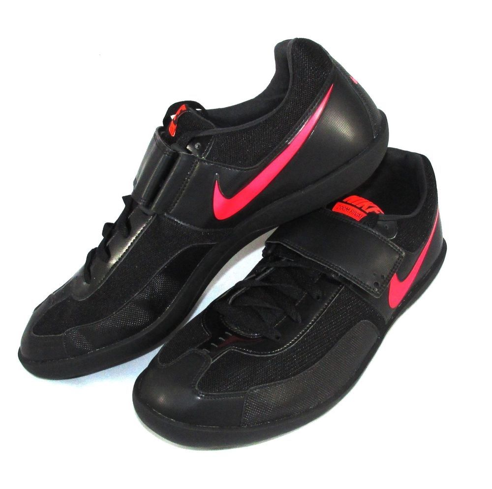 54c8f28479e1 Nike Zoom Rival SD Shot Put DiscusThrow Shoes Mens Size 13 Black Solar Red   Nike  TrackShotPutDiscusThrowShoes