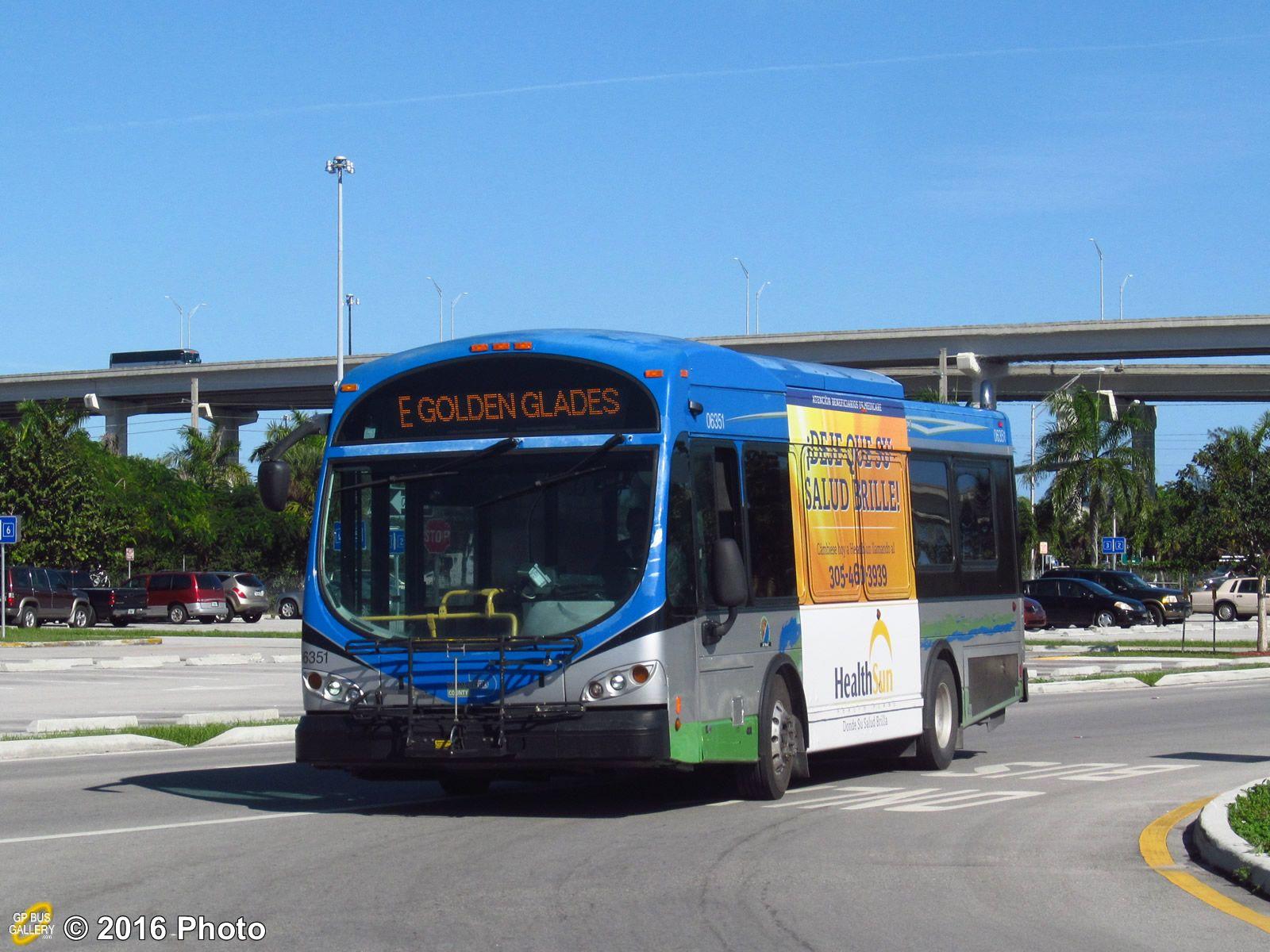 Miniature Buses Miami Dade Transit Downtown Miami Bus Miami