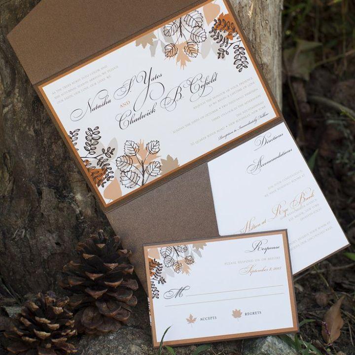 Beyond Gorgeous Wedding Invitation Ideas Invitation ideas Fall
