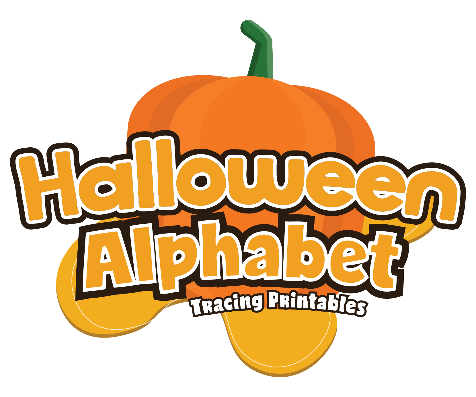 Halloween Alphabet Letter Tracing Pack For Preschoolers