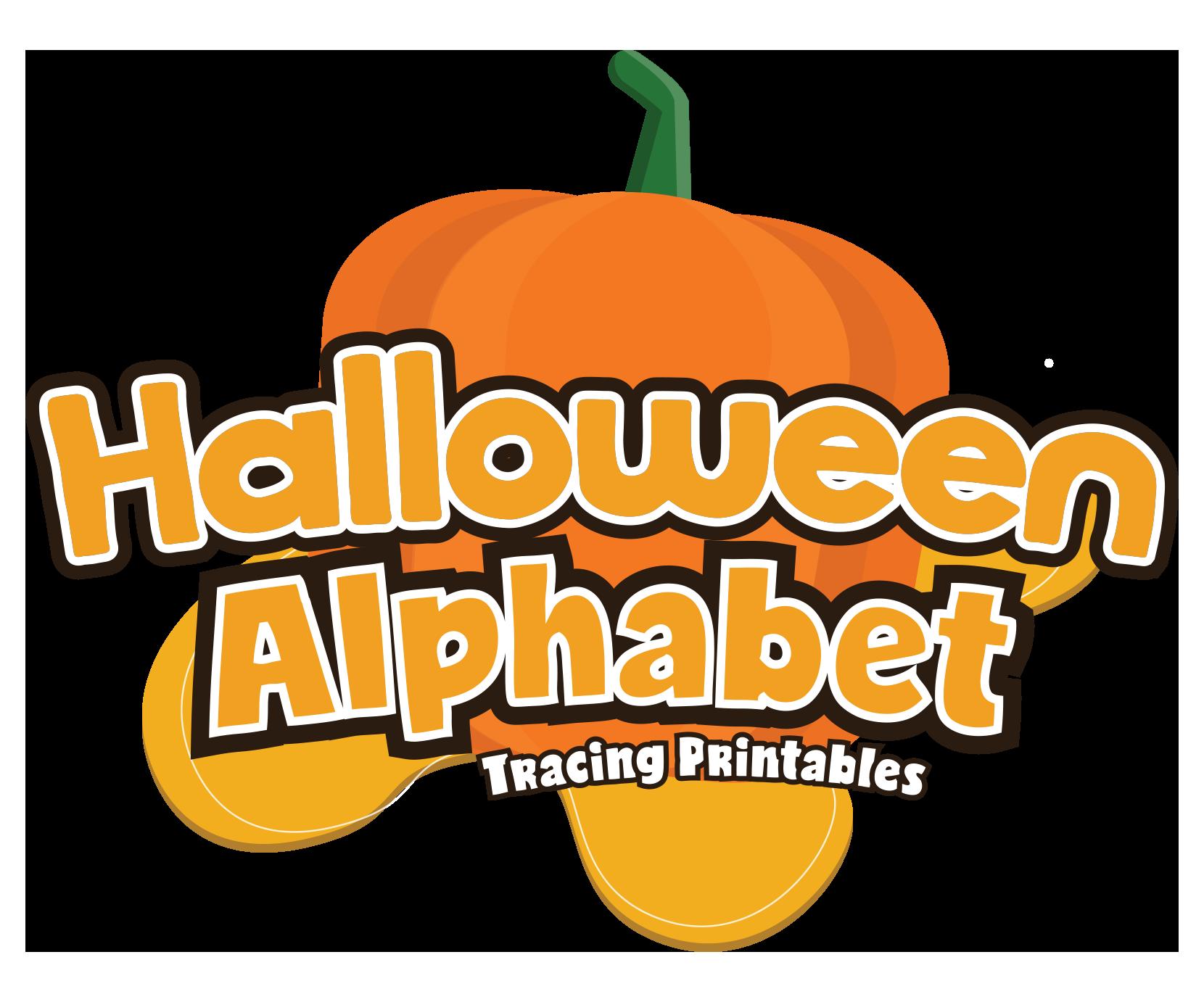 Halloween Alphabet Letter Tracing Pack For Preschoolers