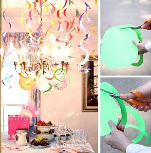 Easy DIY decoration for Party by Alson Hsu Bridal shower ideas
