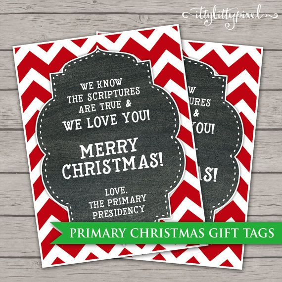 Primary christmas gift ideas lds scriptures