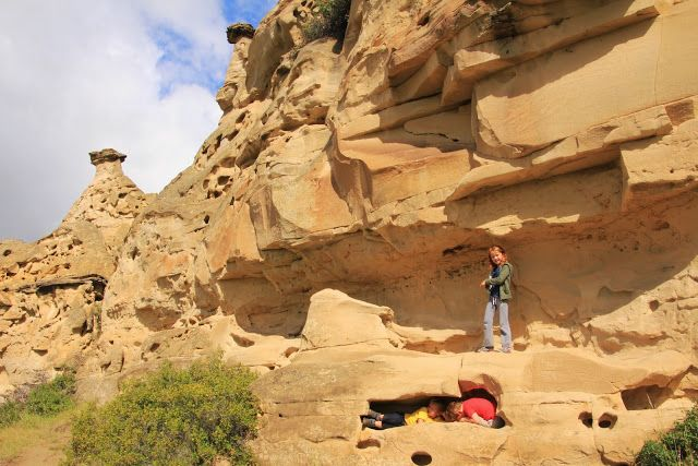 Family Adventures in the Canadian Rockies: Camping in Writing on Stone Provincial Park