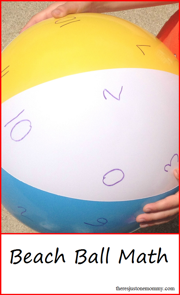 Have Fun Practicing Math Facts | Math facts, Beach ball and Math