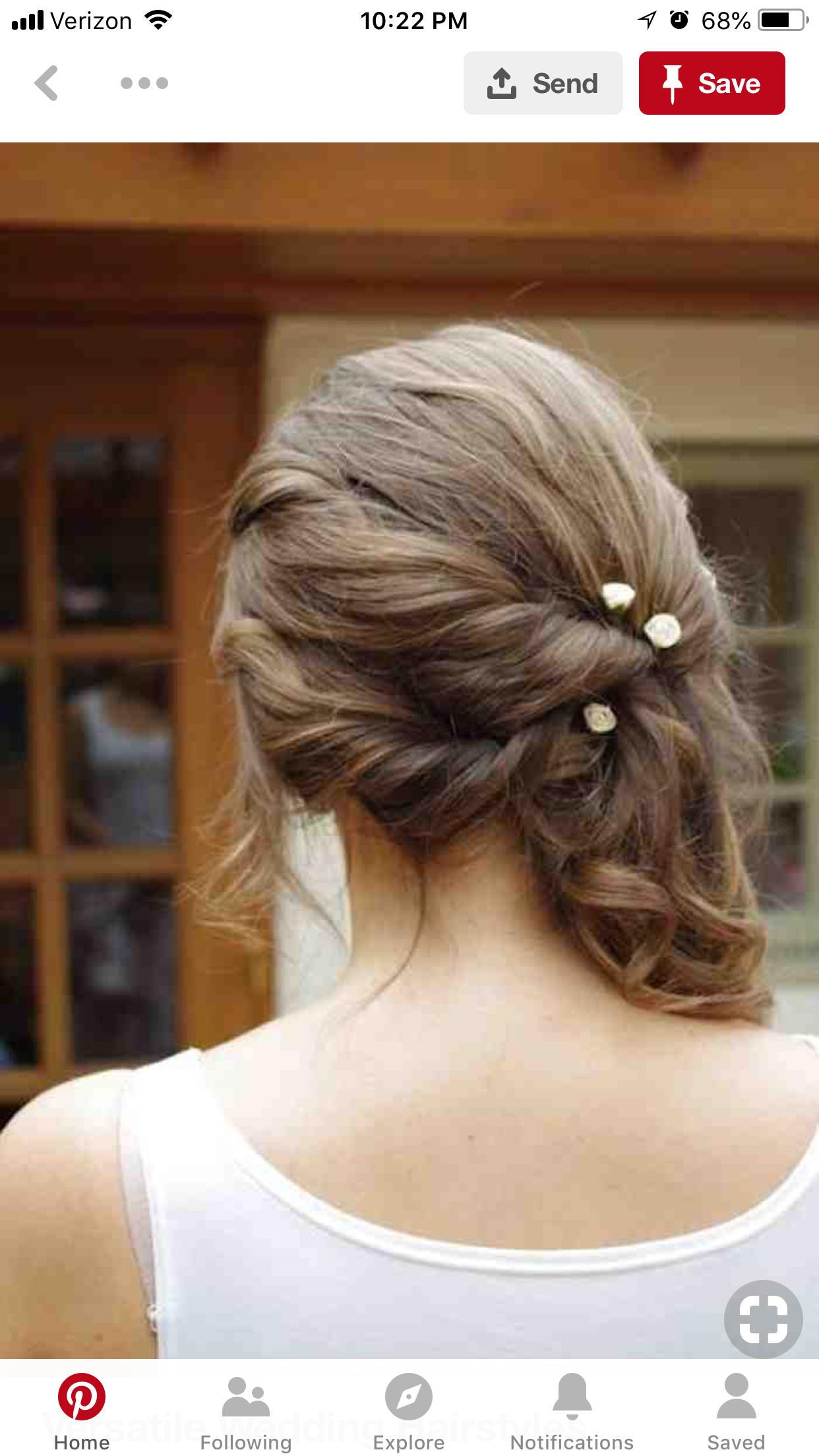 Pin by lynne dasilva on may pinterest wedding hairstyles hair