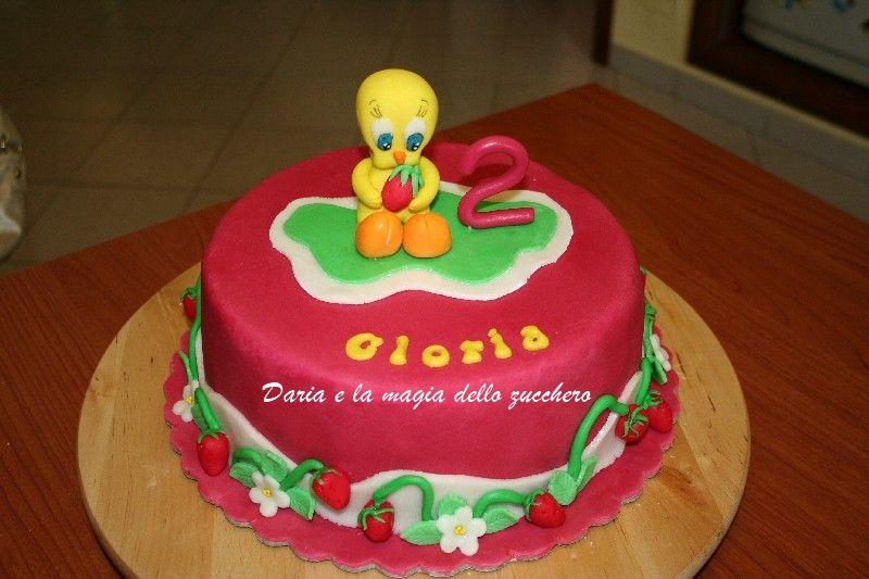 Torte Bambini ~ Tweety cake torta titti children cakes torte bambini