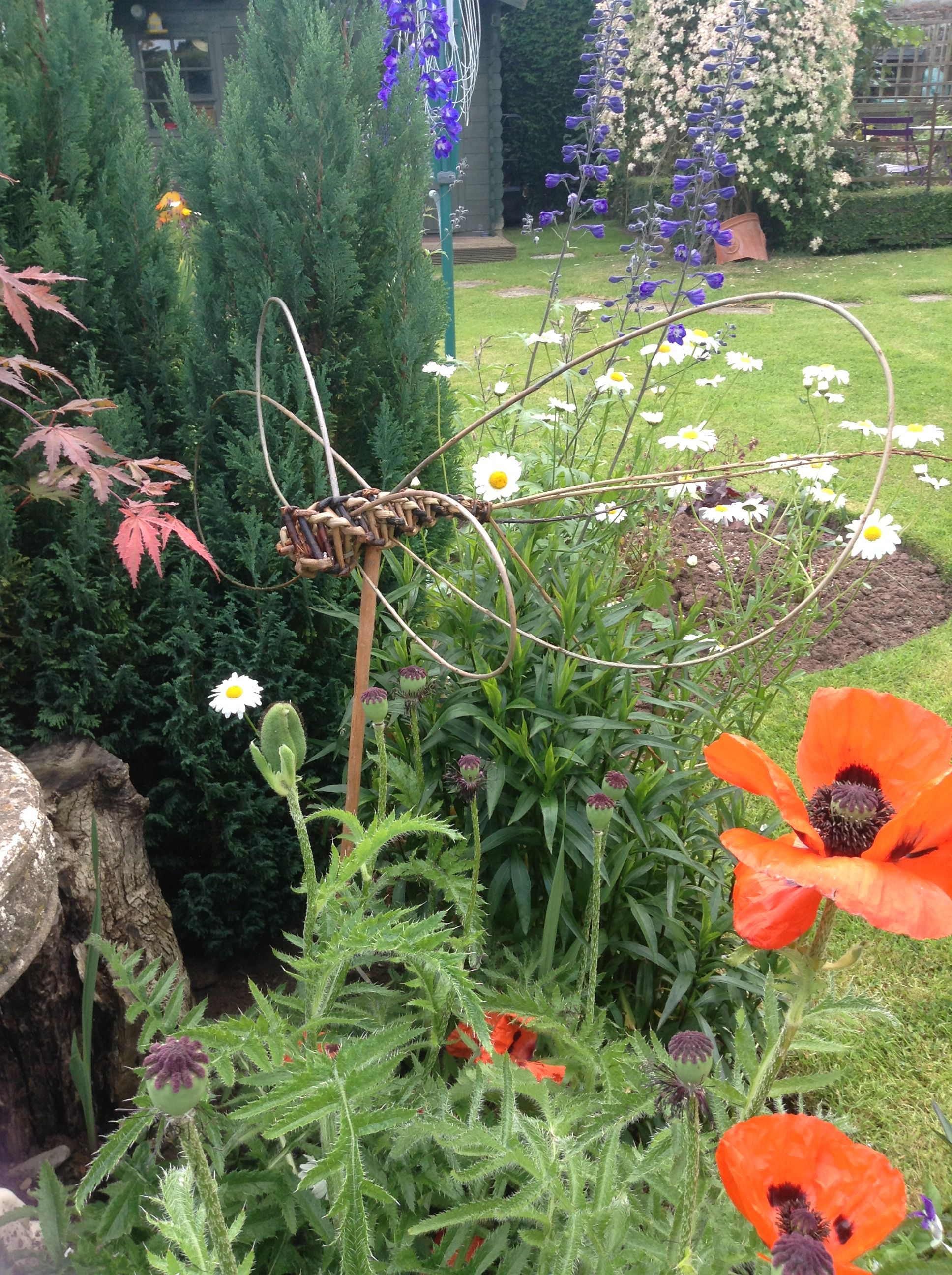 Tressage Osier Jardin Willow Dragonfly Vannerie Garden Projects To Try Et