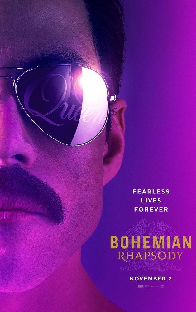 Bohemian Rhapsody Movie Poster 24x36 Rami Malek Joseph Mazzello Myers V1 Bohemian Rhapsody Queen Movie Bryan Singer