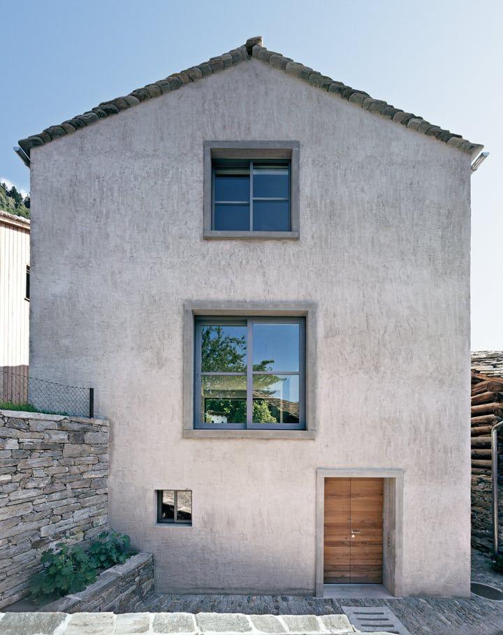 Ruinelli architetti casa atelier fotografico architetti for Case realizzate da architetti