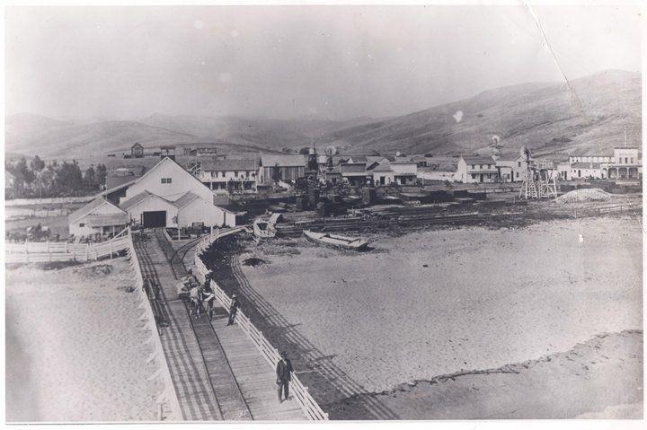 Cayucos in the 1800s san luis obispo county cayucos