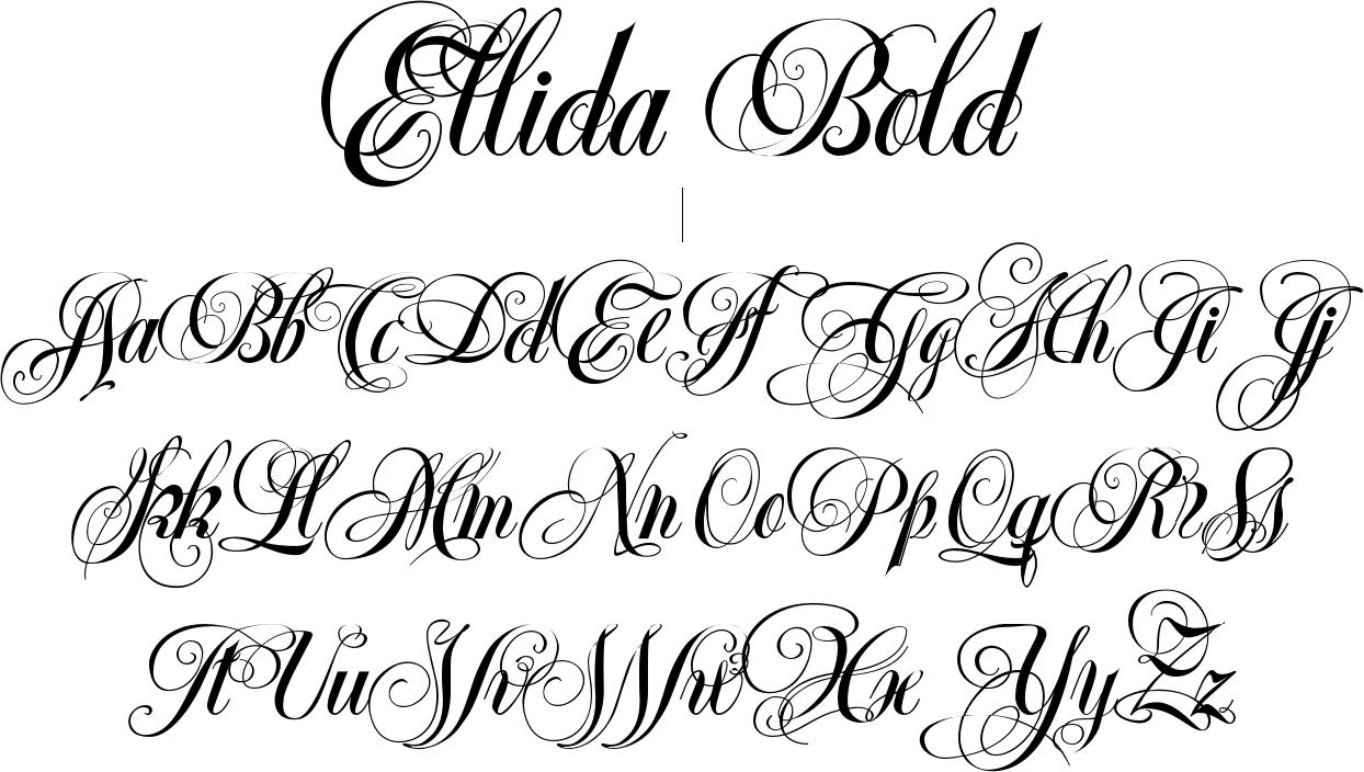 Ellida Bold Font By Wiescher Design
