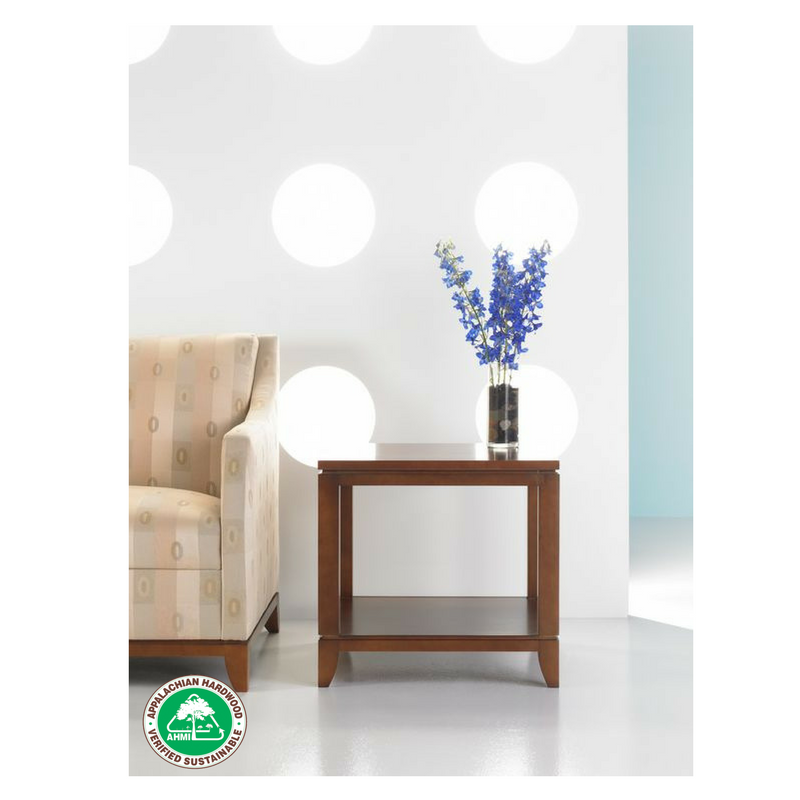 Appalachian Hardwood Manufacturers Inc. Consumer Member: Studio Q Furniture    Aventon Square End Table