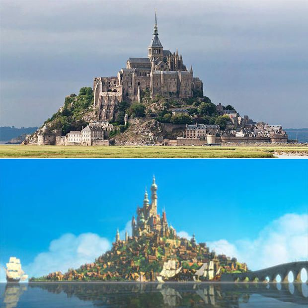 8 Real-Life Locations That Inspired Disney Places