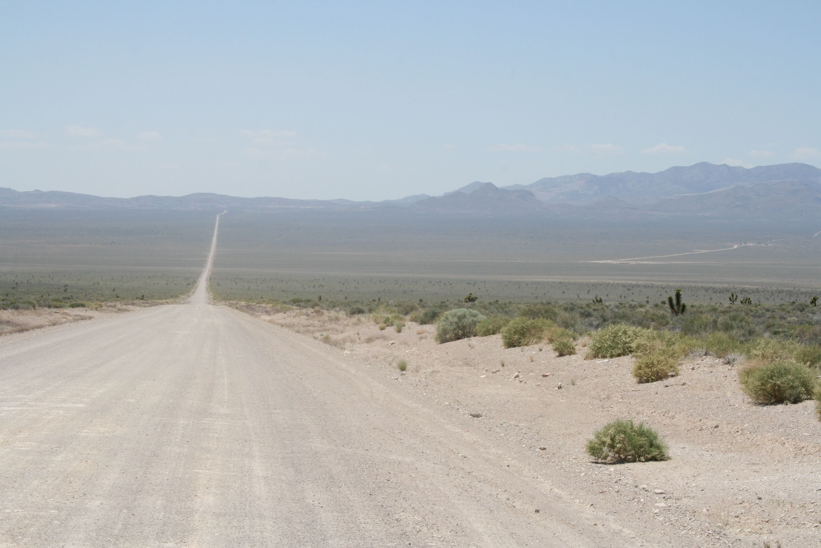 18 mile Dirt road that leads to the backgate of Area 51