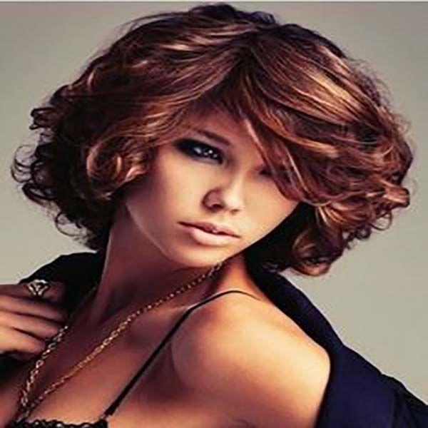 24 cortes modernos para el pelo corto ondulado sobre el cabello - Cortes De Pelo Moderno