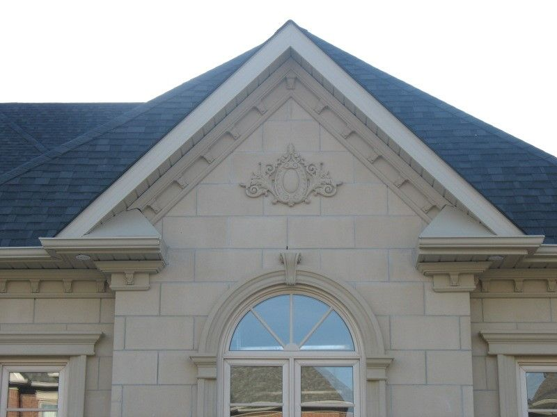 Give your home a new face with exterior molding and trim for Modern alternatives to stucco