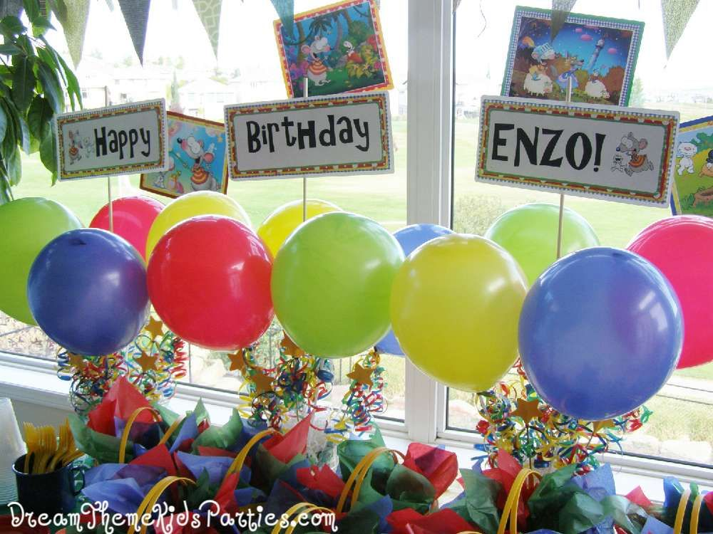 Toopy and Binoo Birthday Party Ideas