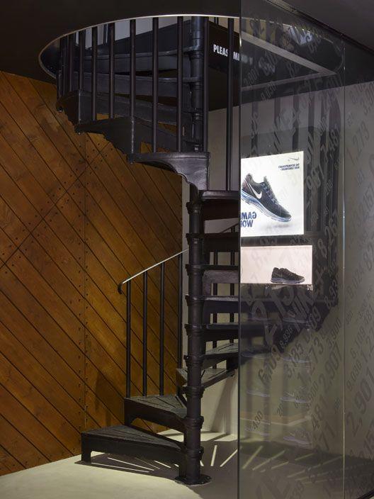 Best A Modern Art Deco Spiral Staircase From British Spirals 400 x 300