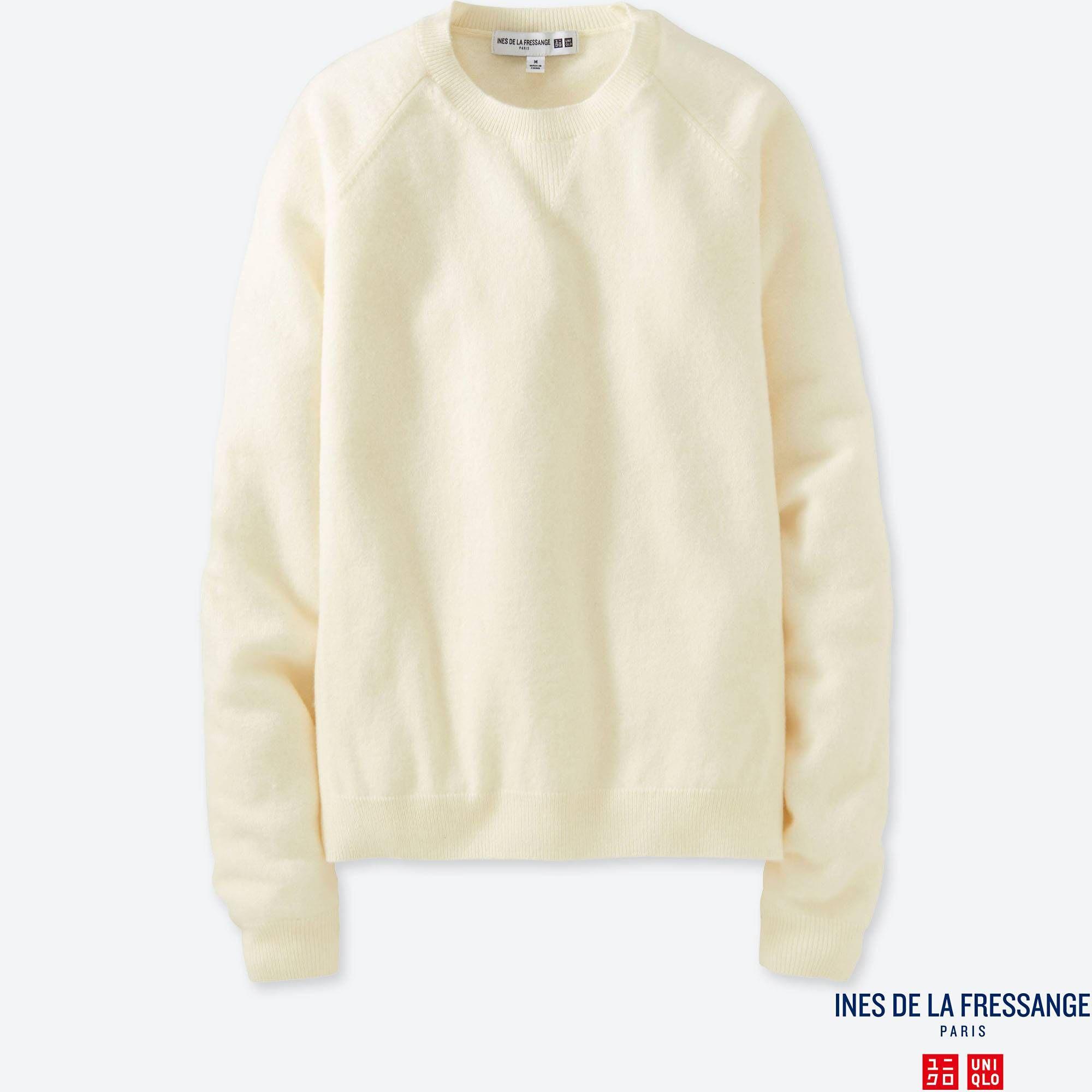 Women idlf cashmere crewneck sweater | Crewneck sweaters, Cashmere ...
