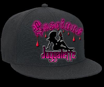 8eab05fd779c1 JUGGALETTE - Snapback Flat Bill Hat - 125-978 - 125-9782031 - Custom ...
